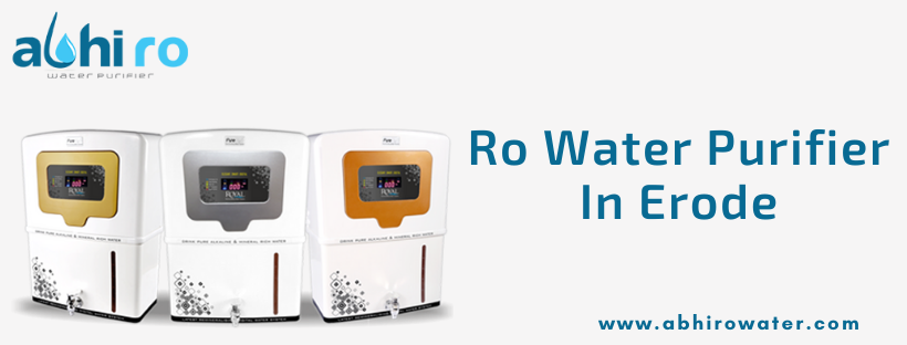 RO Water Purifier In Erode