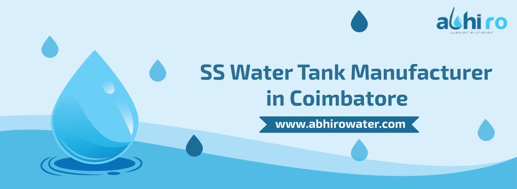 SS Water Tank Manufacturer Coimbatore
